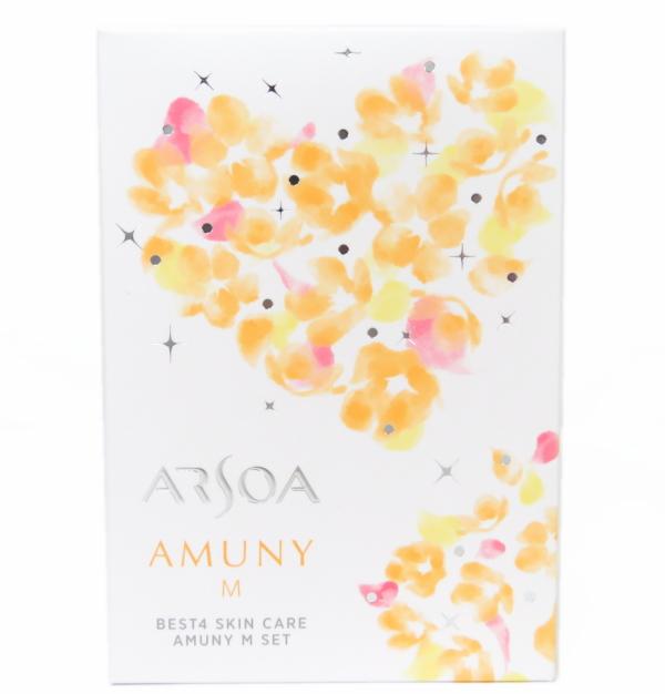 【送料無料】アルソア ARSOA ベスト4スキンケア アムニーMセット
