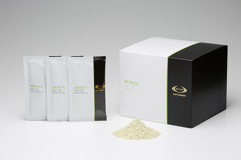 RIZAP/ライザップ MUSCLE(レモンライム) 分包(27g×30袋)