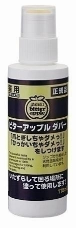 【ニチドウ】 ビターアップル ダバー 猫用 118ml
