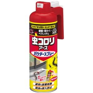 粉剤をまきにくかった場所にも 虫のはい上がりを防ぐ 安い 激安 プチプラ 高品質 アース製薬 虫コロリアース パウダースプレー 中古 日用品 450mL