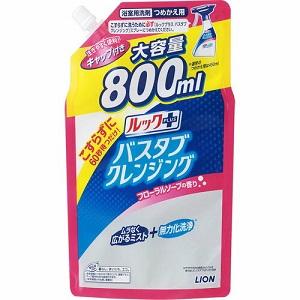 - ライオン ルックプラス バスタブクレンジング フローラルソープの香り 800mL つめかえ用 日用品 新発売 お求めやすく価格改定 大容量