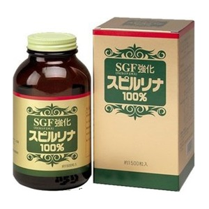 ジャパン アルジェ SGF強化スピルリナ100% 健康食品 セール 予約 1500粒入
