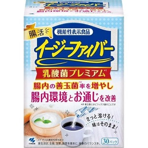 【小林製薬】 イージーファイバー 乳酸菌プレミアム 30パック (機能性表示食品) 【健康食品】