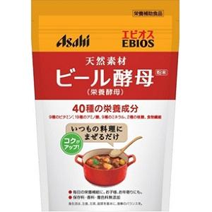 【アサヒ】 エビオス ビール酵母(栄養酵母)粉末 200g 【健康食品】