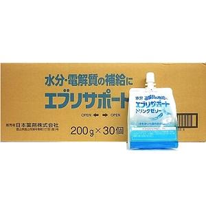 日本薬剤 エブリサポート ドリンクゼリー 大幅にプライスダウン 200g×30個入 フード 飲料 1ケース セール特価品