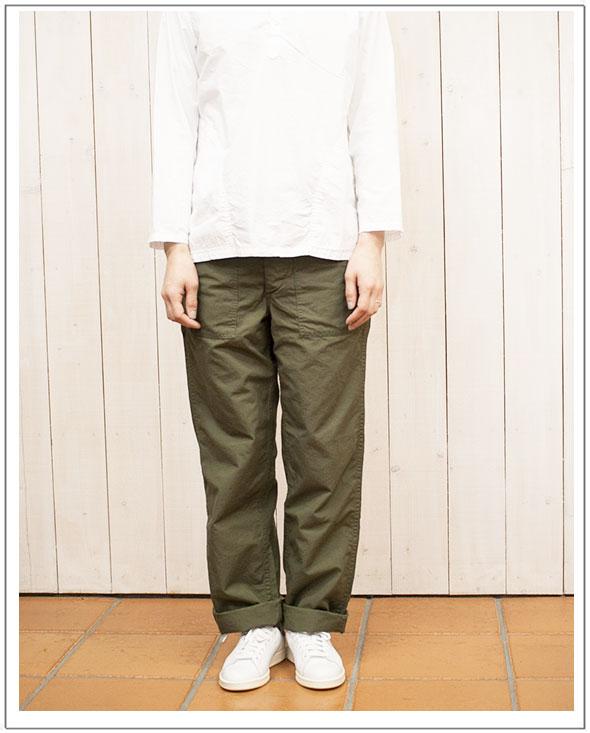 orslow(オアスロウ)US ARMY FATIGUE PANTS[Men&Women]ファティーグパンツUNISEX BOYFRIEND FIT