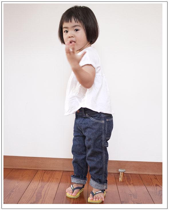 orslow(オアスロウ)PAINTER PANTS/Kid'sデニムペインタパンツ/キッズ