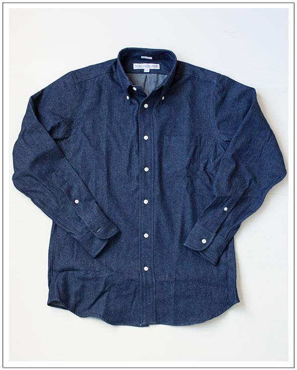 INDIVIDUALIZED SHIRTSインディビジュアライズドシャツビンテージデニムBDシャツ[Men's]