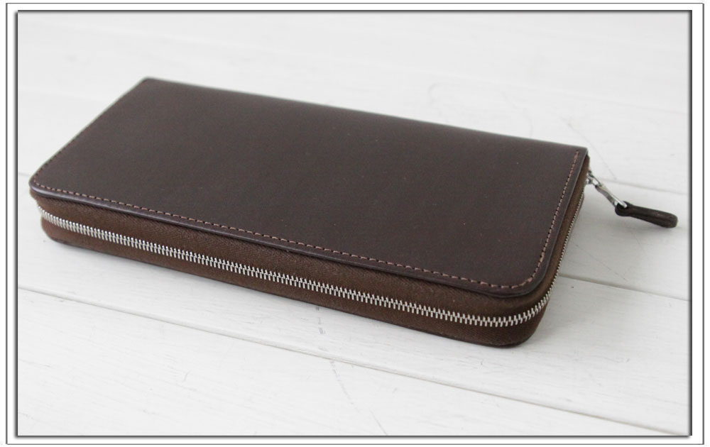WhitehouseCox(ホワイトハウスコックス)LONG ZIP WALLET / BRIDLE / ロングワレット