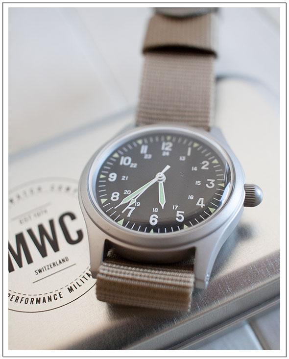 MWC ミリタリーウォッチカンパニーClassic Range Mechanical Watch自動巻ムーブメント