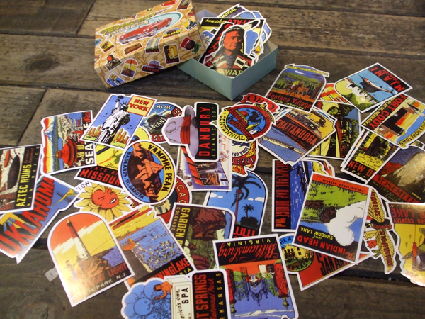 Dalton (DULTON) old statesman labels / stickers (seals of the 50 U.S. on