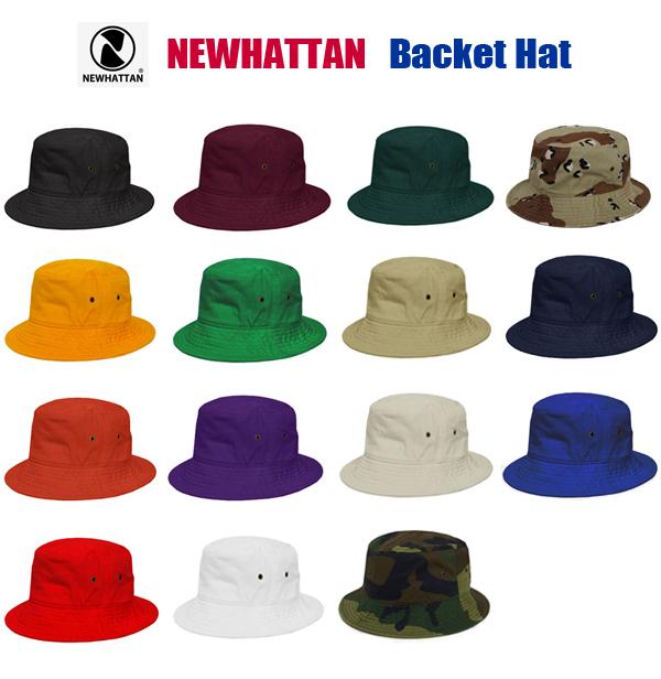 楽天市場 バケットハット ニューハッタンNEWHATTAN  bucket hat NWHT ... 0f30d603677f