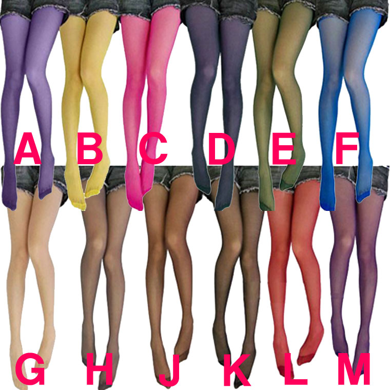 a3e7dde84 ... 12 pairs of sets! Arrival at 12 colorful stockings color stockings  Lady's 美脚春夏 ...