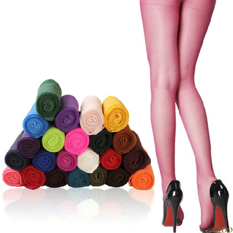 a49bfe59f Colorful stockings [12 color full set] [free shipping]. Detail Simple plain  stockings. I charm a leg neatly for a long time