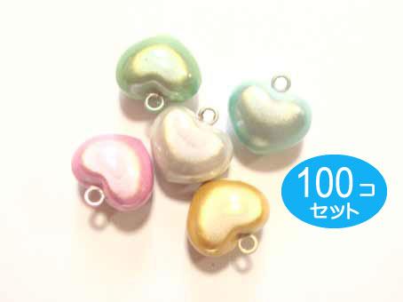 100個セット ハート 水琴鈴(すいきんすず)