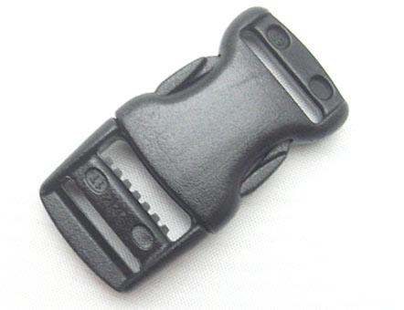 YKKテープアジャスターバックル YKK LB15RC 首輪 パーツ YKKテープアジャスターバックル15mm クロ LB15RC