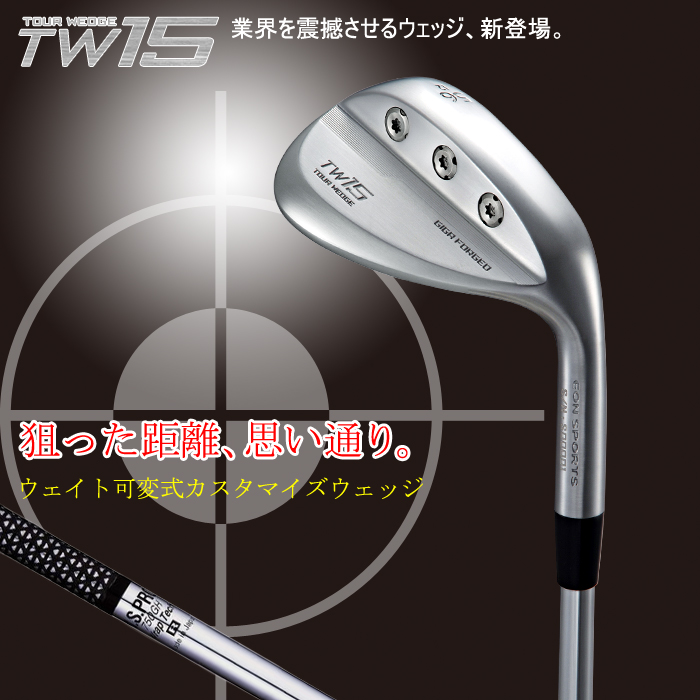 GIGA TW15 ゴルフ ゴルフクラブ ウェッジ NS750 eonsports 送料無料 代引手数料無料 【特注カスタムシャフト】 【10P04Feb17】