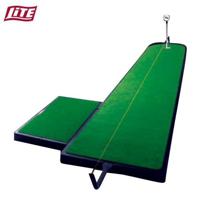 パター 練習 パターマット ツアーリンクス トレーニングエイド ゴルフ ライト LITE Z-124 ストローク 傾斜パッド