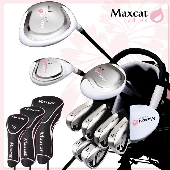 【14点 レディスフルセット】ゴルフ フルセット レディース マックスキャット MAXCAT ゴルフ セット 女性用 レディス フレックスL
