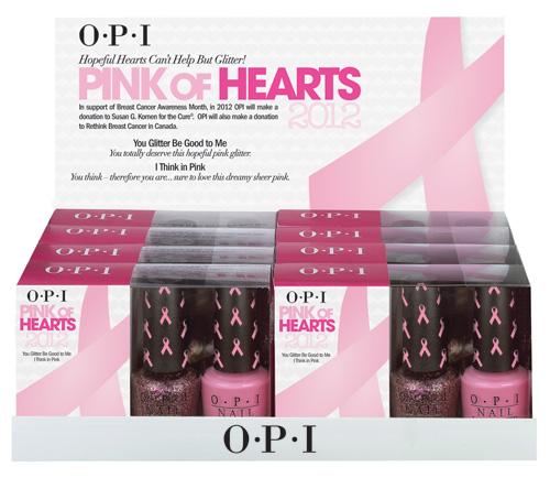 ★OPI(オーピーアイ) ピンク オブ ハーツ 2012 ディスプレー