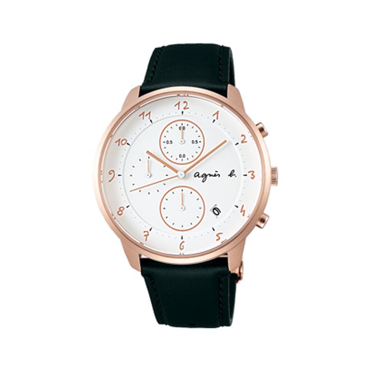 期間限定/ アニエスベー agnes b. 腕時計 メンズ/レディース クロノグラフ マルチェロ Marcello FBRW989【2017 新作】【正規品】【送料無料】