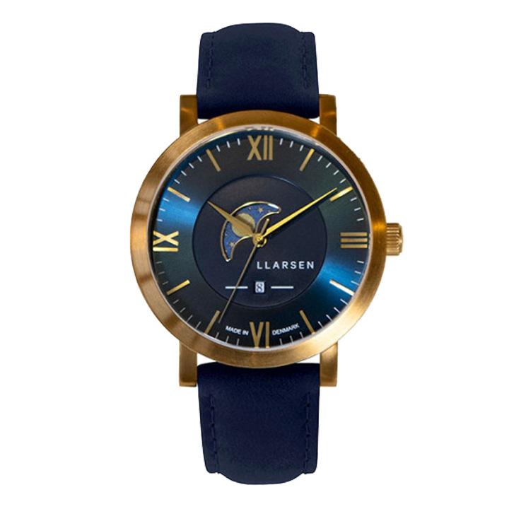 正規品 中古 送料無料 サイズ調整無料 ラッピング無料 店 エルラーセン LLARSEN メンズ LL180GDBU 腕時計 ヒューゴ HUGO