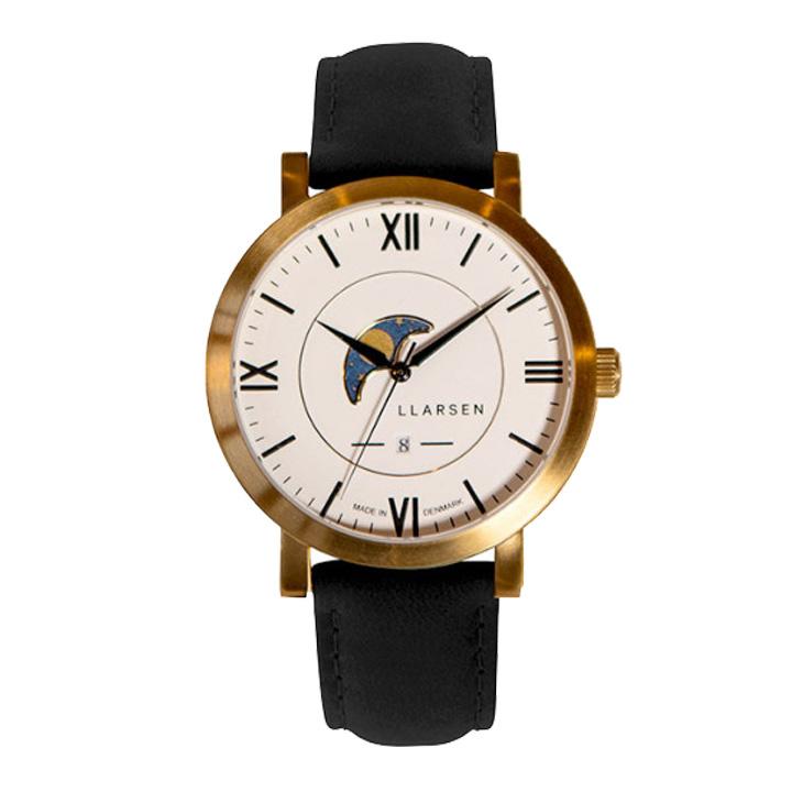 <title>正規品 送料無料 新品未使用 サイズ調整無料 ラッピング無料 エルラーセン LLARSEN 腕時計 メンズ ヒューゴ HUGO LL180GWCL</title>