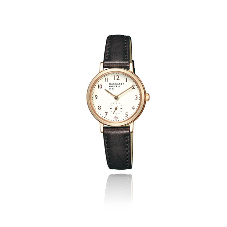 定価 MARGARET HOWELL レディース マーガレット ハウエル 腕時計 送料無料 期間限定 アイデア アイディア マーガレットハウエル BZ1-722-10 スモールセコンド 初回限定 idea 時計