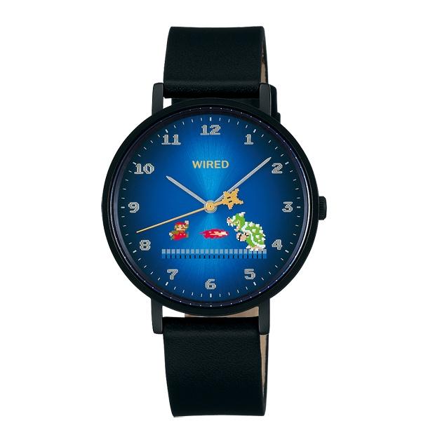 セイコー ワイアード スーパーマリオブラザーズコラボ限定モデル 腕時計 メンズ AGAK708【2018 新作】