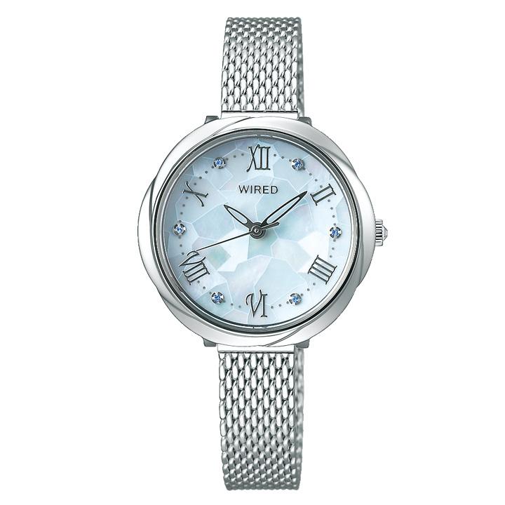 正規品 送料無料 セイコー ワイアード エフ 激安通販ショッピング SEIKO f レディース メーカー公式 腕時計 AGEK460 WIRED