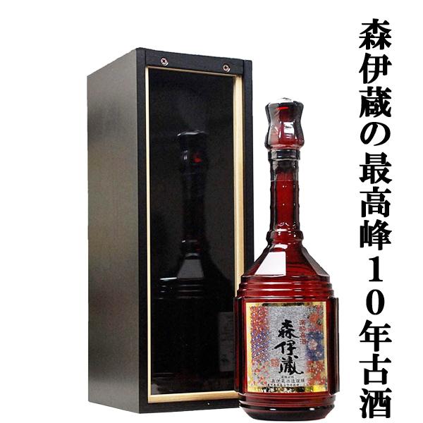 「熟成の極み!」 森伊蔵 楽酔喜酒 長期熟成古酒 芋焼酎 25度 600ml