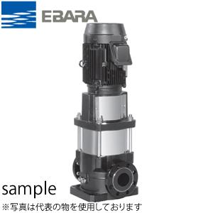エバラ プレミアム効率モータ搭載ステンレス製立形多段ポンプ 三相 200V 80mm 80EVMG255.5E