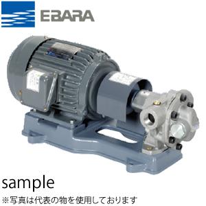 エバラ 灯油用歯車ポンプ 三相 200V 25mm 25GPA5.75A 直結形 6極
