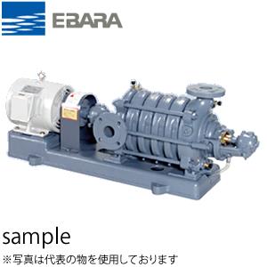 エバラ 多段渦巻ポンプ 100MS5522BB 三相200V 50Hz(東日本用) 100mm