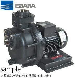 エバラ 海水用プラスチック製自吸ポンプ 三相 200V 80mm 80PQM51.5B 50Hz