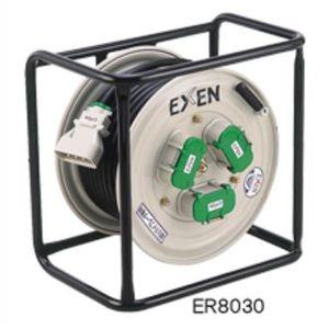 エクセン 高周波オプション機器 コードリール ER8030 取出し3口