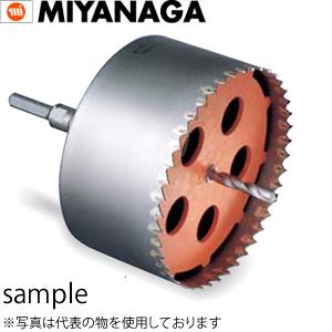 ミヤナガ ポリクリック 塩ビ管用コアドリル セット φ180mm (PCEW180)