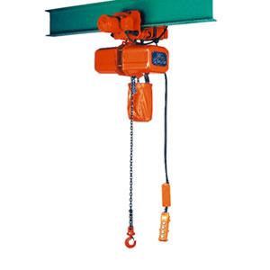 ニッチ 電気チェーンブロック ECE4形 電動横行式 三相200V 250kg 4点押ボタン式