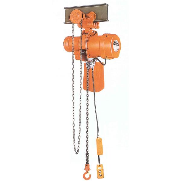 ニッチ 電気チェーンブロック MHG-5形 連鎖横行式 三相200V 3.0t 2点押ボタン式