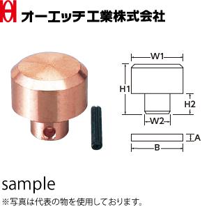 OH(オーエッチ工業) カッパーハンマー・コンビカッパーハンマー替ヘッド CO-65H 適応:#10 W1/W2寸法:φ65/φ35mm