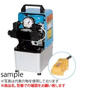 大阪ジャッキ製作所 NEX形小形電動油圧ポンプ NEX-2KGS (圧力計付・圧力スイッチ付)