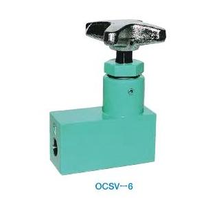最新人気 チェック付ストップバルブ OCSV-6A:セミプロDIY店ファースト 大阪ジャッキ製作所-DIY・工具