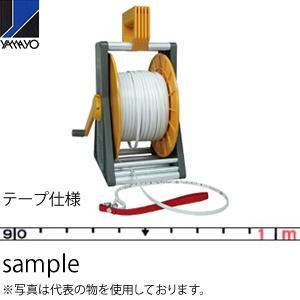 ヤマヨ測定器 ミリオンロープケース付 MSR-30C 30m 繊維製巻尺