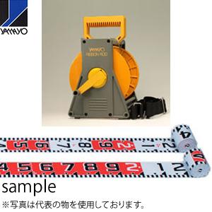 ヤマヨ測定器 リボンロッド両サイド100E2 ケース入 R10B10S 10m 遠距離用現場記録写真用巻尺, ササグリマチ b151076b