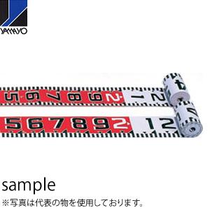 ヤマヨ測定器 リボンロッド両サイド150E1 R15A10 10m 遠距離用現場記録写真用巻尺
