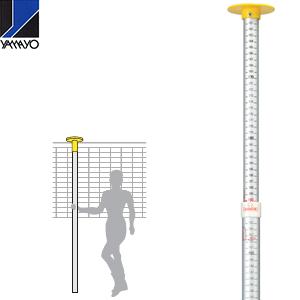 欠品中:2019年4月以降予定 ヤマヨ測定器 スポーツ高度計 SP-K 1610~3050mm  ネット・バスケットリング計測用 [配送制限商品]