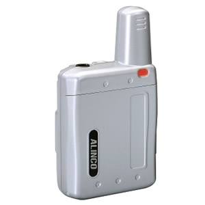 ALINCO(アルインコ) 特定小電力トランシーバー(ラペルトーク:シルバー)DJPX5S