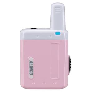 ALINCO(アルインコ) 特定小電力トランシーバー(ラペルトーク:ピンク)DJPX5P