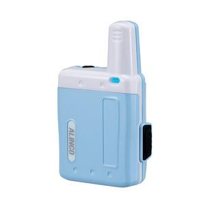 ALINCO(アルインコ) 特定小電力トランシーバー(ラペルトーク:ブルー)DJPX5A
