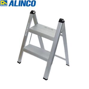 ALINCO(アルインコ) アルミ製 薄型踏台 SS-52A 2段 シルバー [配送制限商品]
